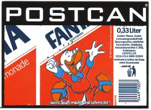 - Postcan Dagobert Duck -
