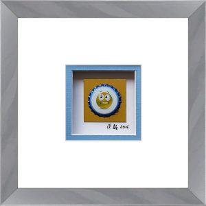 - Emoticon (Gelb) 8/12 -
